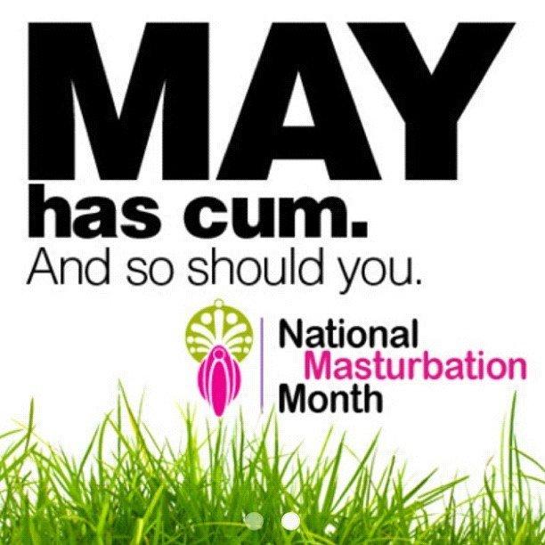 May masturbation month