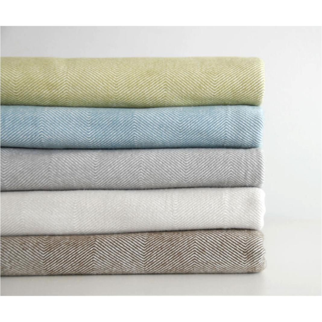 Aqua lightweight summer blanket Diamond King Cotton Blanket